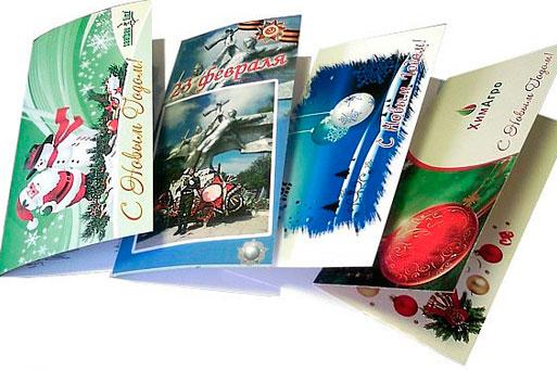 Рисунки, производство открыток в россии
